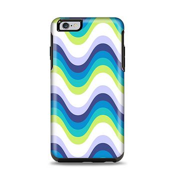 The Fun Colored Vector Sharp Swirly Pattern Apple iPhone 6 Plus Otterbox Symmetry Case Skin Set