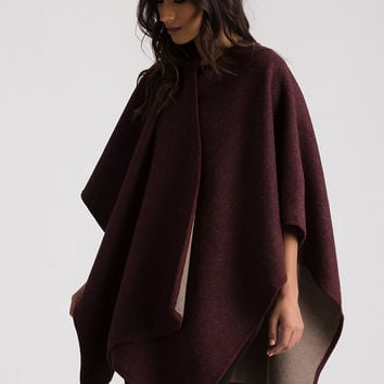 Wrapped In Blankets Flyaway Poncho