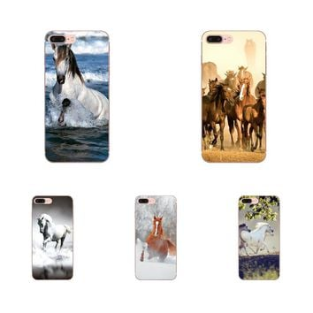 KMUYSL Enjoy Broncos Horse Running For LG G2 G3 mini spirit G4 G5 G6 K4 K7 K8 K10 2017 V10 V20 V30 TPU Phone Cover Case Coque