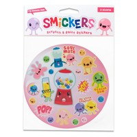 Scratch and Sniff Bubble Gum Stickers
