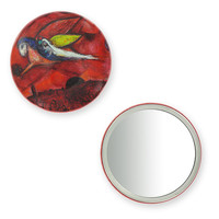 """Purse mirror """"Song of Songs IV"""" - Marc Chagall"""