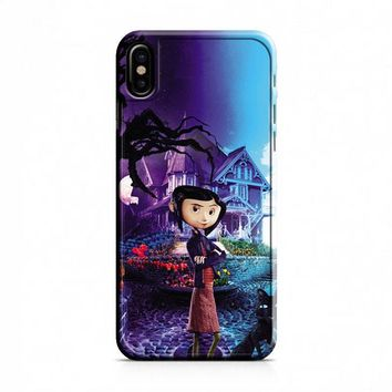 Coraline Cover Movie iPhone X Case