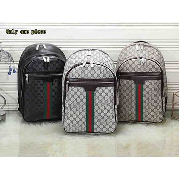 GUCCI Universal Printed Coloured Backpack for Men and Women