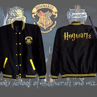 Very RARE and Limited Collectible Newest Hogwarts Harry Potter Varsity Jacket