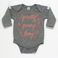 Pretty Young Thing long sleeve one-piece