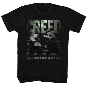 Adult Creed Embrace the Legacy T Shirt