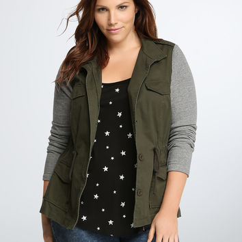 Utility French Terry Jacket