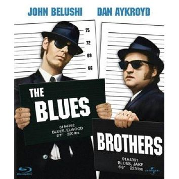 Blues Brothers Movie poster Metal Sign Wall Art 8in x 12in
