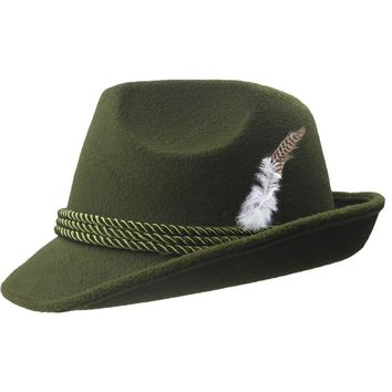 Deluxe Green German Fedora
