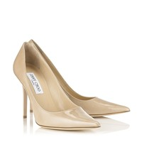 Nude Patent Pointy toe Pumps | Abel | Spring Summer 14 | Jimmy Choo 24:7 Icons
