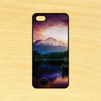 Beautiful Mountain View Phone Case iPhone 4 / 4s / 5 / 5s / 5c /6 / 6s /6+ Apple Samsung Galaxy S3 / S4 / S5 / S6