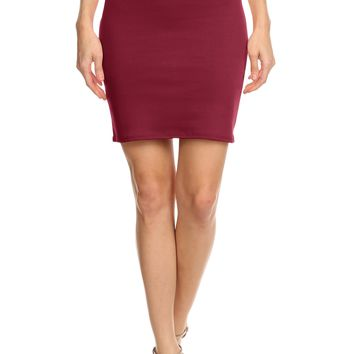 Above Knee Pencil Skirt