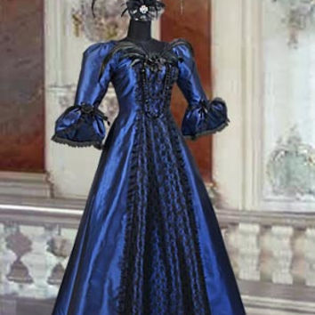 Ladies Victorian Edwardian Day Costume Victorian Dresser Alternative Measures - Brides & Bridesmaids - Wedding, Bridal, Prom, Formal Gown