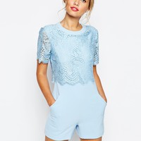 Ted Baker Zasha Plasuit in Lace