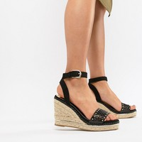 River Island wedges with laser cut details at asos.com
