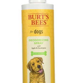 Burt's Bees Apple/Eucalyptus Dog Deodorizing Spray 10 oz