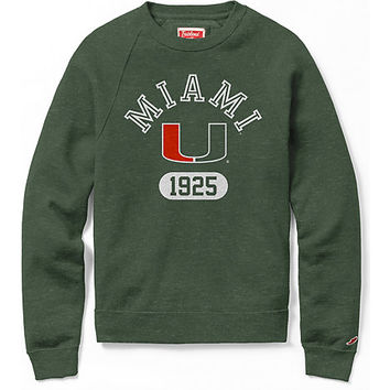 University of Miami Heritage Crewneck Sweatshirt