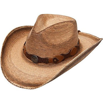 Resistol Men's Jason Aldean Show You Off Straw Hat Brown Medium