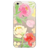 iPhone 6/6S Case - OTM Artist Prints Clear - Peonies