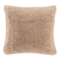 Madison Park Signature Serengeti Faux-Fur Square Throw Pillow