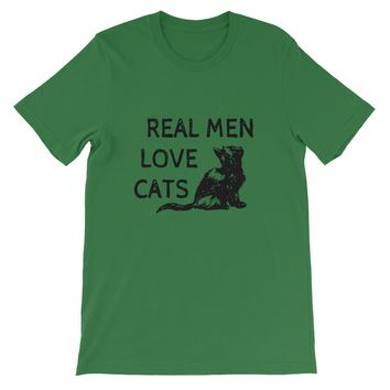 T-Shirt REAL MAN LOVE CATS