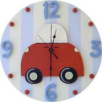 Car Wall Clock by Wish Upon a Star
