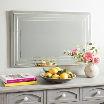 Infinity Frameless Wall Mirror, 24x36 in. | Kirklands