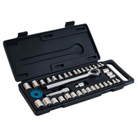 Stalwart 40 Piece Socket Set - SAE and Metric