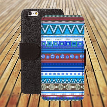 Classic India pattern iphone 5/ 5s iphone 4/ 4s iPhone 6 6 Plus iphone 5C Wallet Case , iPhone 5 Case, Cover, Cases colorful pattern L039