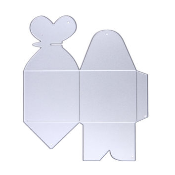Lovely Wedding Box Metal Cutting Dies Stencils for DIY Scrapbooking Stamp photo album Decorative Embossing DIY Paper Cards
