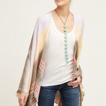 Vedea Kimono by Anthropologie in Pink Size: One Size Tops