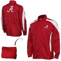 Alabama Crimson Tide Youth Packaway Hooded Full Zip Jacket - Crimson - http://www.shareasale.com/m-pr.cfm?merchantID=7124&userID=1042934&productID=520948102 / Alabama Crimson Tide