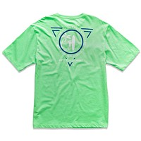 Men's Scope Graphic Tee in Bright Mint by Johnnie-O