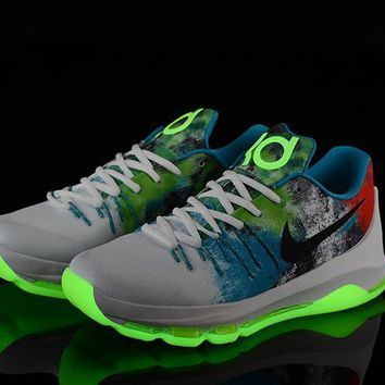2017 Nike Zoom Kd 8 Kevin Durant Luminous Version Men's Basketball Shoes - Beauty Ticks