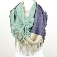 Love Triangle Infinity Scarf