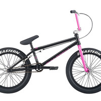 Eastern Traildigger Black/Pink Complete BMX Bike
