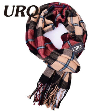 Plaid men scarf winter fashion scarves scarf soft warm cashmere Tartan scarves 2016 new A3A17523