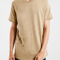 Camel Textured T-Shirt