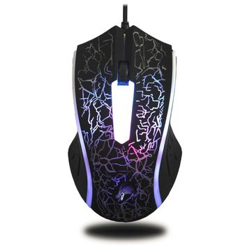 X7 4000DPI Wired Gaming Mouse 6 Button LED Optical Computer Mouse Gaming Mice Drop Shipping