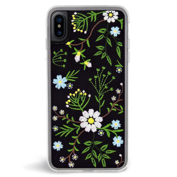 Romance Embroidered iPhone X Case