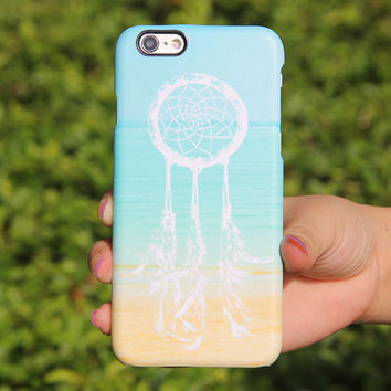 Summer Beach Dreamcatcher iPhone 6 Case,iPhone 6 Plus Case,iPhone 5s Case,iPhone 5C Case,4/4s ,Samsung Galaxy S6 Edge/S6/S5/S4/S3/Note 2/3