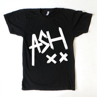 New ASH XX Ashton Irwin 5 Seconds Of Summer 5 SOS Logo Unisex T Shirt On Black and White Color - PX1