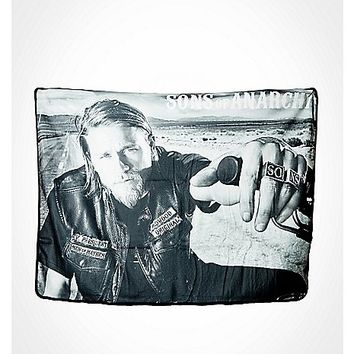 Sons of Anarchy Jax Teller Fleece Blanket - Spencer's