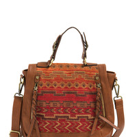 Weave An Impression Tribal Satchel