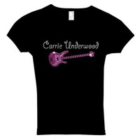 Carrie Underwood Inspired T Shirt Custom Crystal Rhinestone Also inTanks and Hoodies  Infants to Adult 6X