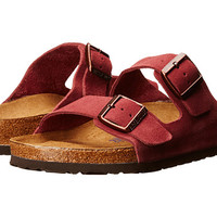 Birkenstock Arizona Soft Footbed Sun Dried Tomato Suede - Zappos.com Free Shipping BOTH Ways