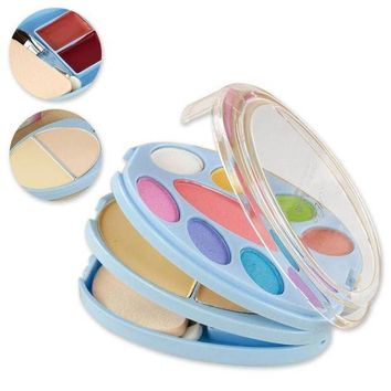 MDIG57D 1Pc Makeup set Concealer Palette Face Contour Eyeshadow Makeup Cosmetic Palette RP1-5