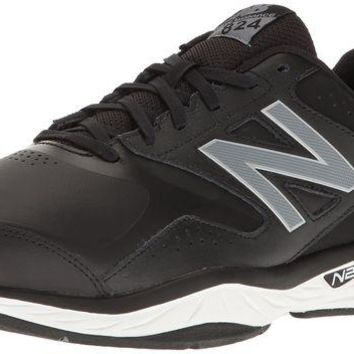 DCCK1IN new balance men s mx824v1 cross trainer black silver 11 5 d m us