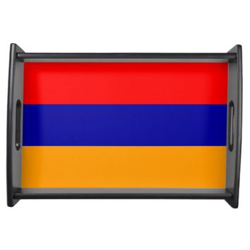 Armenia, flag serving tray