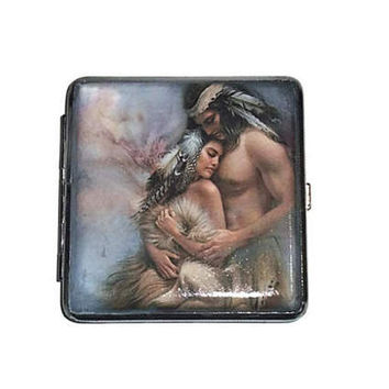 Cigarette case Womеn, Indians Cigarette case Love, Brand new metal cigarette case, Romance gift for her, grooms gift, gift idea female